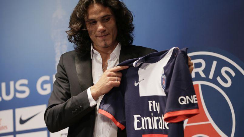 Avec Cavani, le PSG espère de nouveau exploser son record de maillots vendus