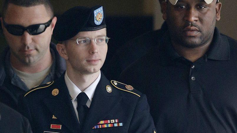 Bradley Manning lors de son procès, le 20 août.