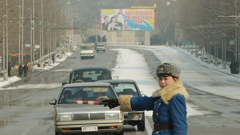 Pyongyang, capitale de la Corée du Nord.