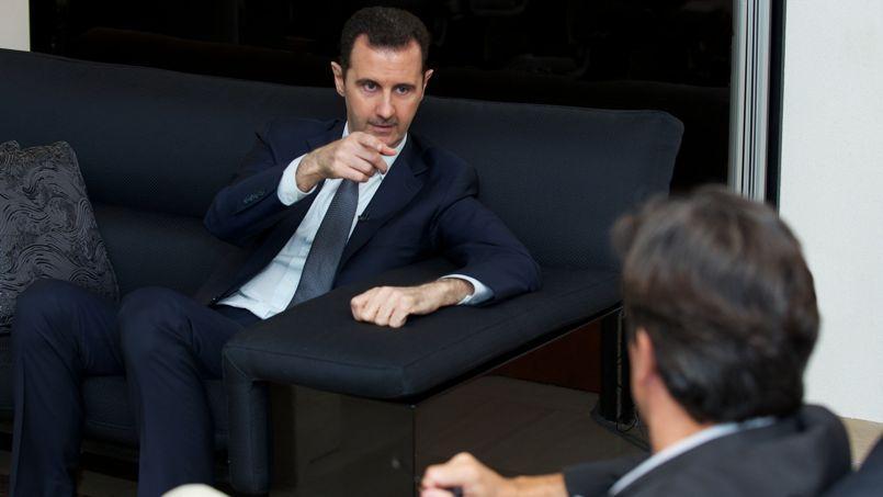 Bachar el-Assad.