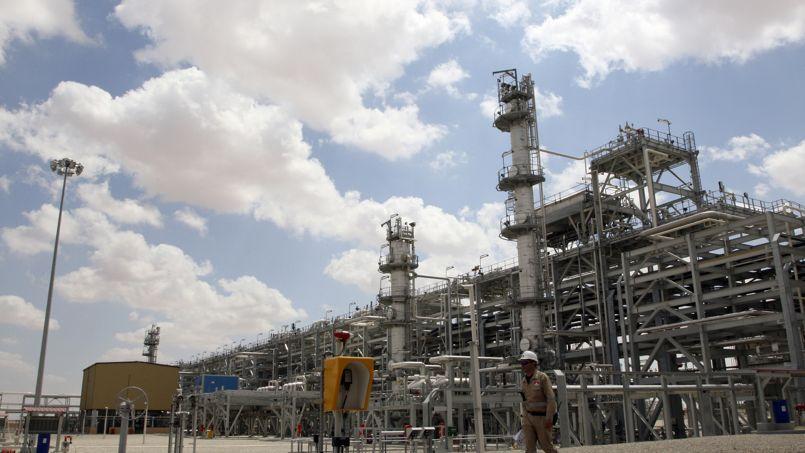 Un site de production de gaz naturel près de Homs.