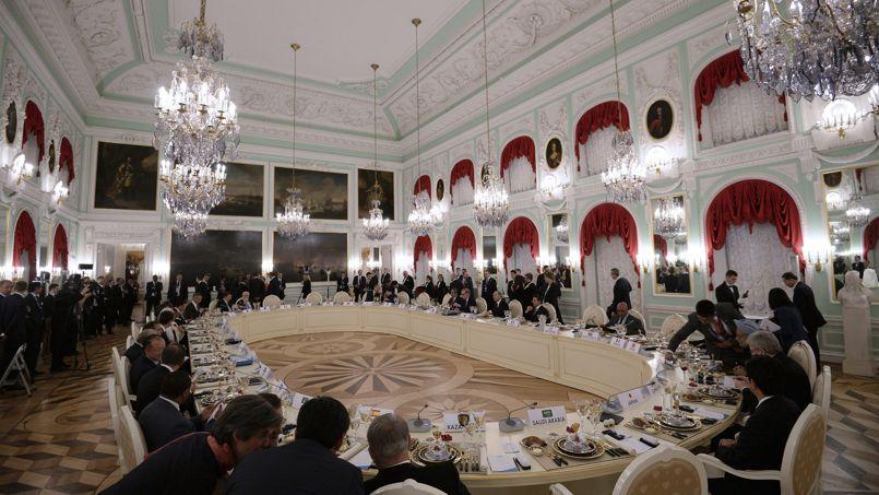 Vladimir Poutine a marqué des points lors du dîner des chefs d'État du G20, jeudi soir.