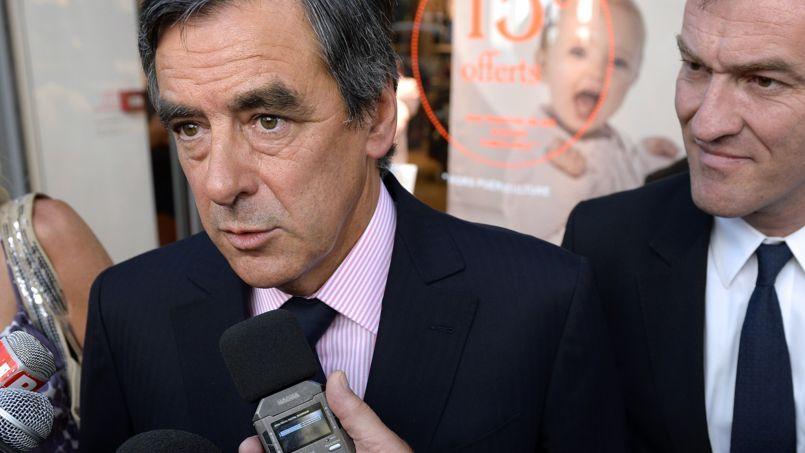 François Fillon jeudi à Lyon.