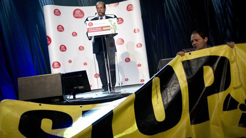Pendant la campagne présidentielle, François Hollande a pris l'engagement de réduire la part d'électricité nucléaire de 75 à 50% d'ici à 2025.