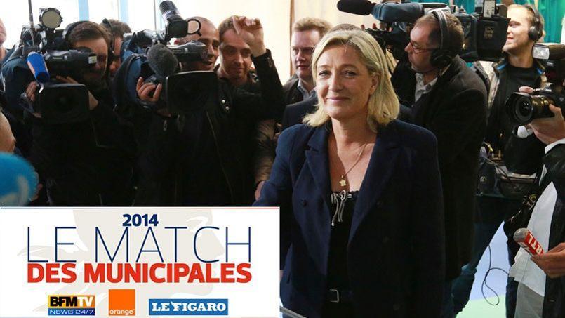 Municipales: PS et UMP en baisse, FN en hausse