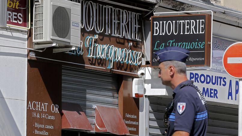 La bijouterie «La Turquoise», le lieu du drame.