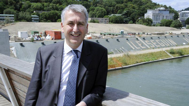 Pierre-Christophe Baguet est fier d'avoir reçu le label écoquartier pour le quartier du Trapèze à Boulogne-Billancourt.