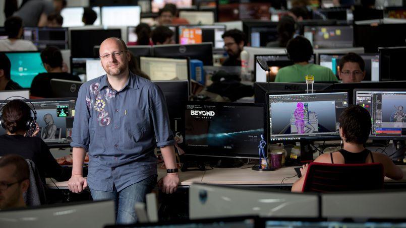 David Cage,fondateur et directeur des studios Quantic Dream, installés à Paris (XXe). Malgré les tentations, il a choisi de rester en France.