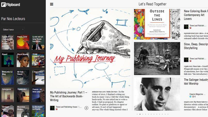 Le magazine interactif Flipboard valorisé 800 millions de dollars