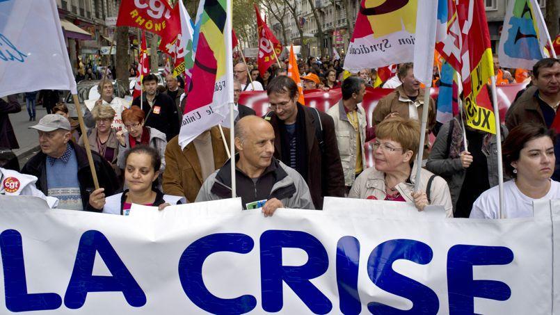 En 2011, deux grandes manifestations seulement ont mobilisé les Français, en octobre et en décembre. Crédit: Le Figaro