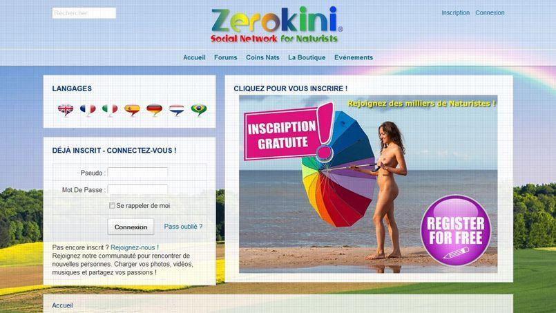 La couleur est affichée dès la page d'accueil du site.