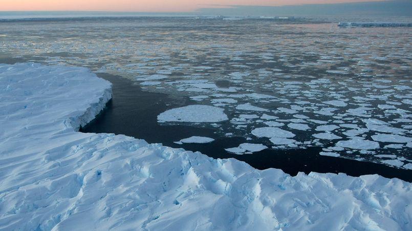 La Baie de Vincennes dans l'Antarctique. Tous les travaux des experts du Giec 2013 confirment une hausse des températures dont les activités humaines seraient la cause.