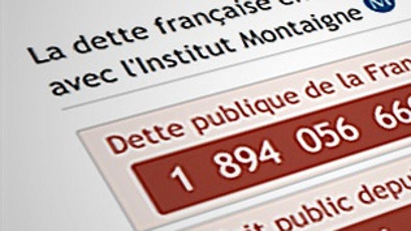 Suivez en direct l'évolution de la dette de la France