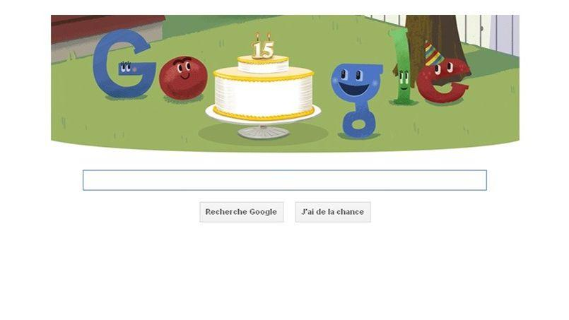 Google fête ses 15 ans et invite ses internautes à participer à un mini-jeu.CHRIS HELGREN/REUTERS