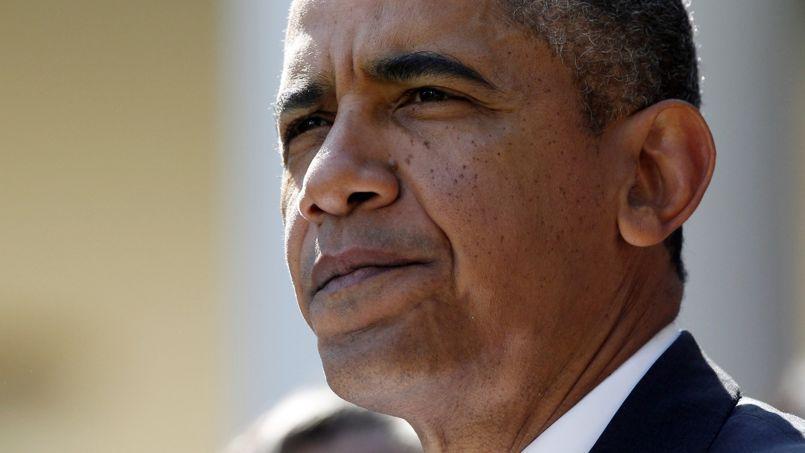 Barack Obama nourrit l'espoir qu'une chute de Wall Street force les républicains à réagir.