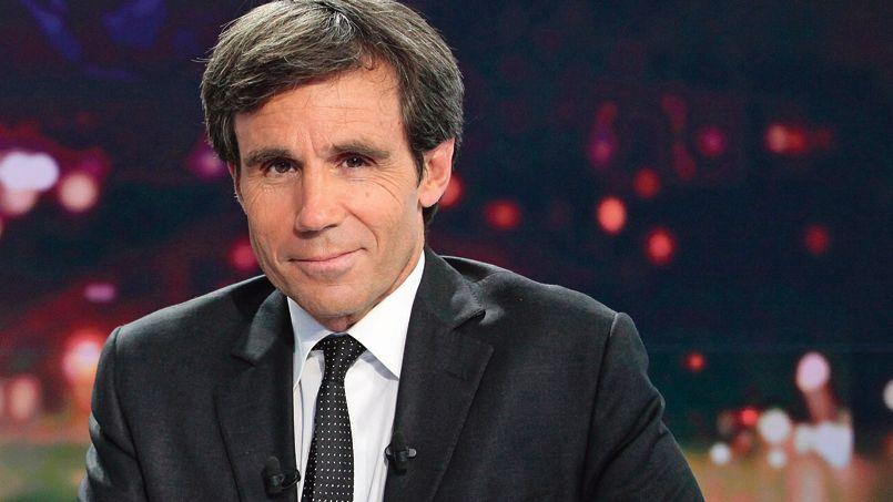 David Pujadas, présentateur du JT de France 2.