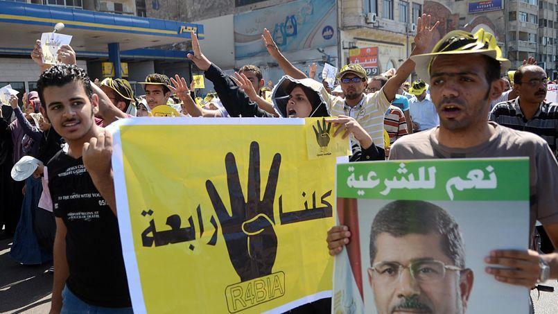 Manifestation de partisans du président Morsi, le 20 septembre à Alexandrie