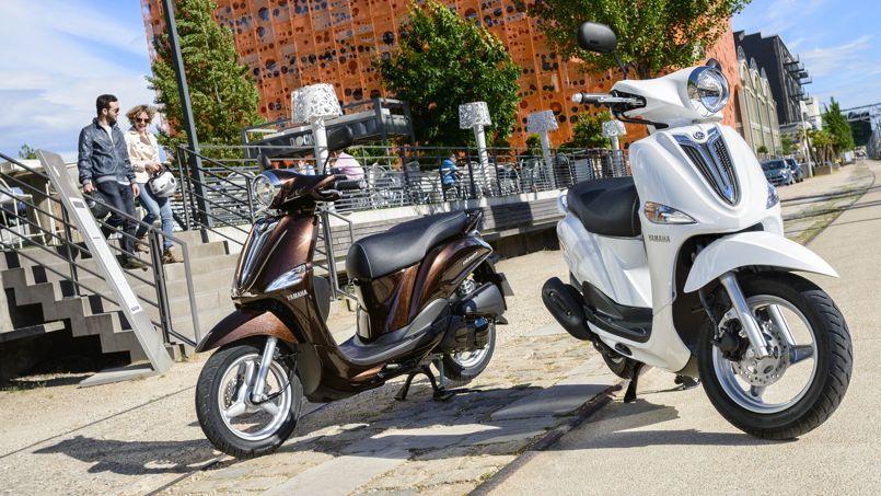 Yamaha et MBK lancent un scooter125 à 2000 euros