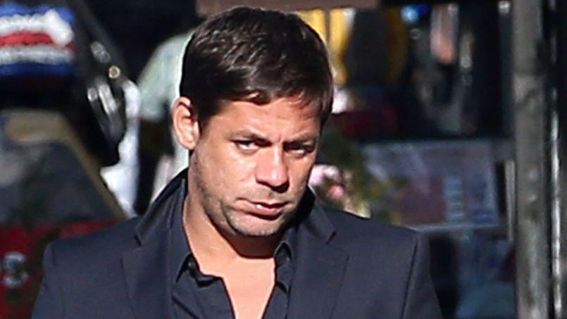 Éric Robic, le 3 septembre à Paris avant sa mise en examen.