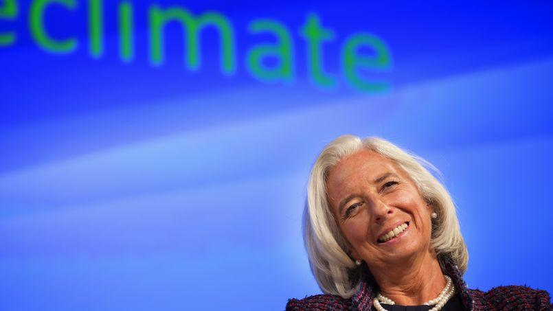 Christine Lagarde, directrice générale du FMI, le 8 octobre à Washington.