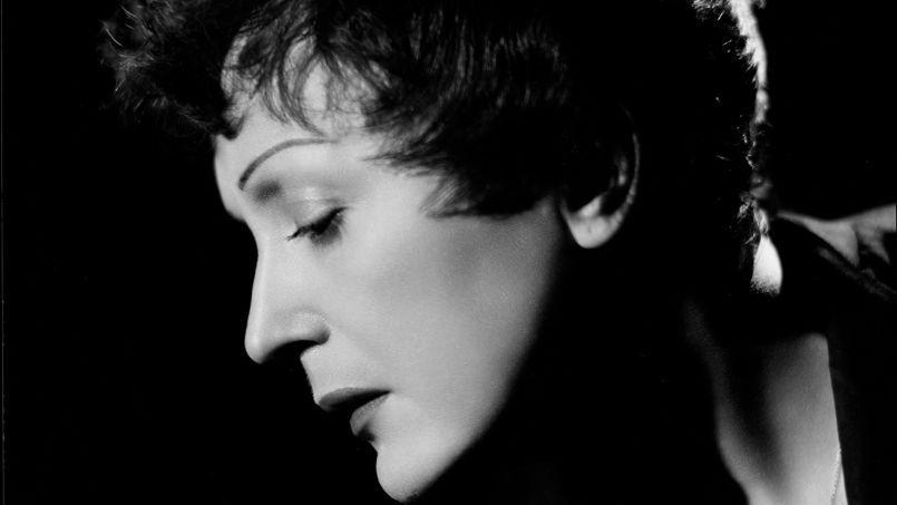 Édith Piaf, en 1955.