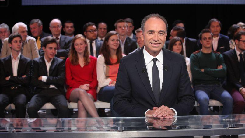 Jean-François Copé, invité de l'émission «Des paroles et des actes» sur France 2 jeudi, s'est attaqué au programme «absurde» du Front national.