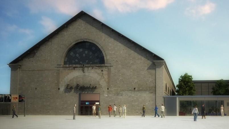 À Verdun, La Reprise, 8 salles, redonnera vie en décembre 2014 à un manège militaire à chevaux.
