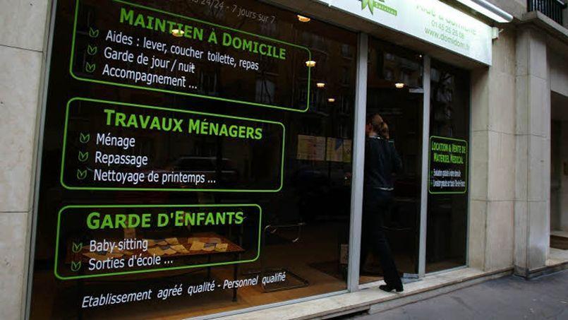 En France, les entreprises de service à la personne ne réprésentent pour l'instant que 3% d'un marché de près de 38 milliards d'euros. Crédits photo: Le Figaro/François Bouchon