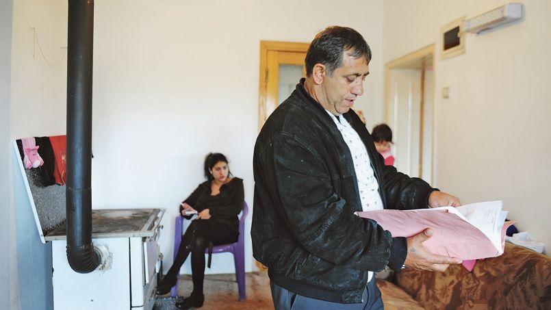 Resat Dibrani (vendredi, à Mitrovica) a fait un long séjour en Italie avant de venir en France.