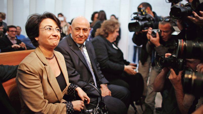 «Qu'il s'agisse de sécurité, d'économie ou d'éducation, l'État juif ne s'occupe pas des villes arabes», s'emporte la députée Haneen Zoabi, musulmane non pratiquante et candidate à la mairie de Nazareth (ici en décembre 2012 à Jérusalem).