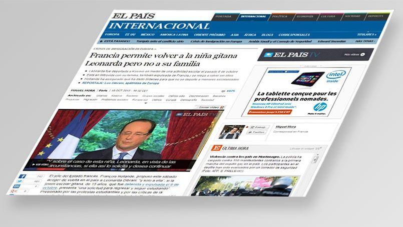 El Pais évoque «la plus grande crise politique de la présidence de Hollande».
