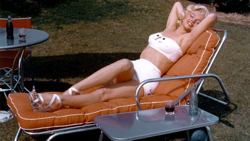 Marylin, en Californie, en 1953.
