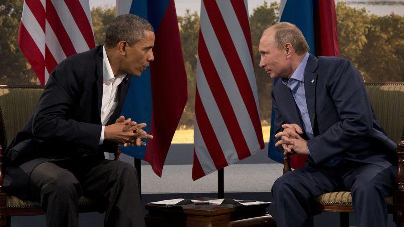 Barack Obama et Vladimir Poutine, en juin dernier.