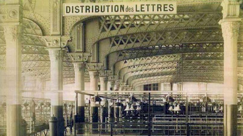 Les doubles vaisseaux de la poste du Louvre, objet de la discorde entre architectes. (Crédit photo: capture écran du site Jeanfrancoiscabestan.com/Archives de la Poste)