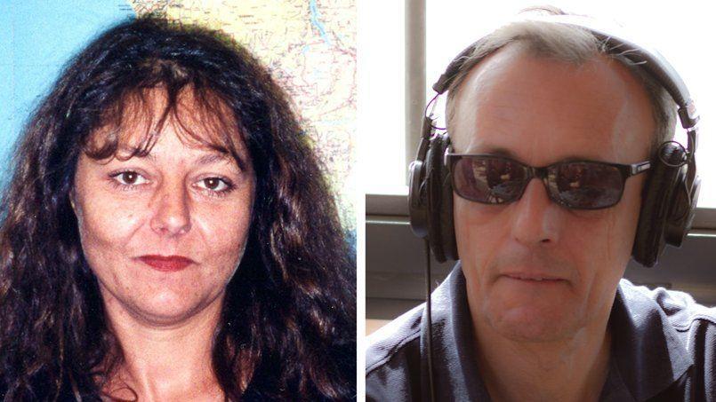 Ghislaine Dupont et Claude Verlon, les deux journalistes de RFI assassinés samedi à Kidal.