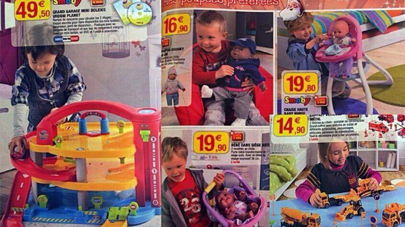 Crédits photo: capture d'écran sur Twitter du Catalogue de jouets SystèmeU.