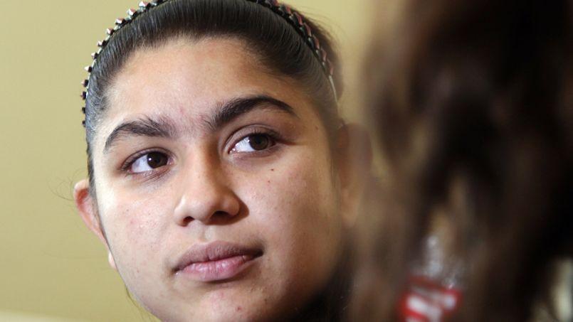 «La vie est difficile»au Kosovo, soupire Leonarda Dibrani.
