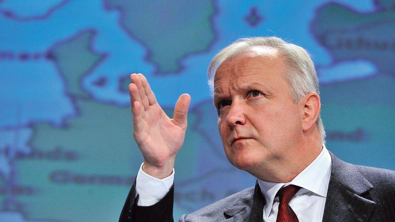 Le commissaire européen aux Affaires économiques et monétaires, Olli Rehn.