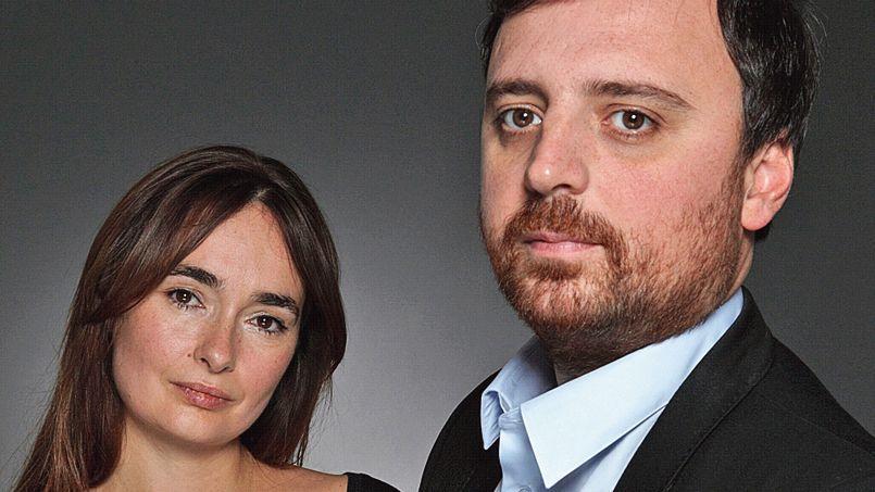 Lucie Beudet et David Creuzot, créateurs de Konbini.