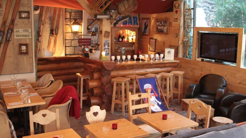 Le bar Edelweiss. (DR)