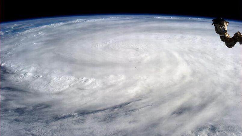 Le typhon Haiyan photographié par la Nasa le 9 novembre.