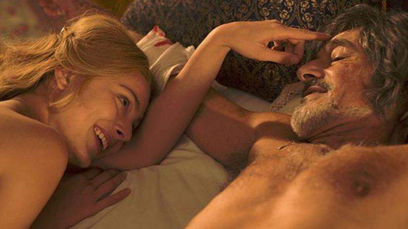 Nora Arnezeder (Angélique) et Gérard Lanvin (Joffrey de Peyrac) sont les deux héros du remake d'Ariel Zeitoun. © Europa