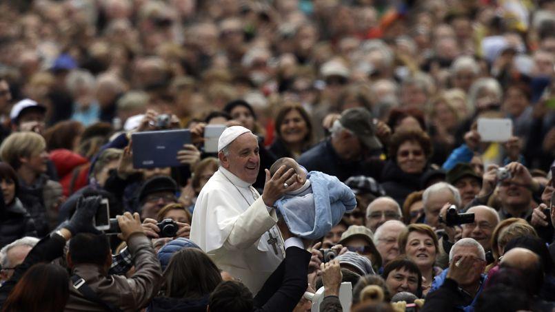 Le pape François, ce mercredi.
