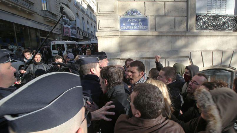 Incidents du 11 Novembre : l'audience des trois manifestants comparaissent devant la justice