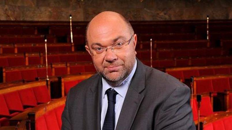 Stéphane Travert, le député PS de la Manche et rapporteur du budget de l'audiovisuel public.