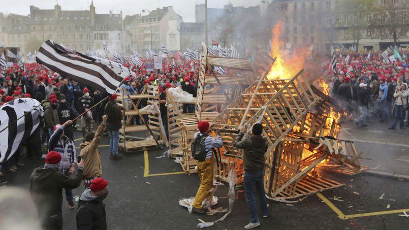 «Le mécontentement ne se limite pas à la Bretagne», insistent les préfets dans leur rapport.