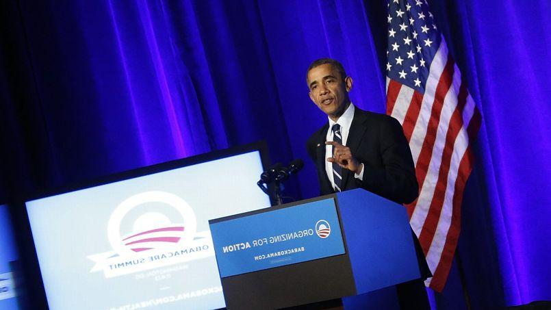 Barack Obama, lors d'un discours sur sa réforme de santé, le 5 novembre, à Washington.