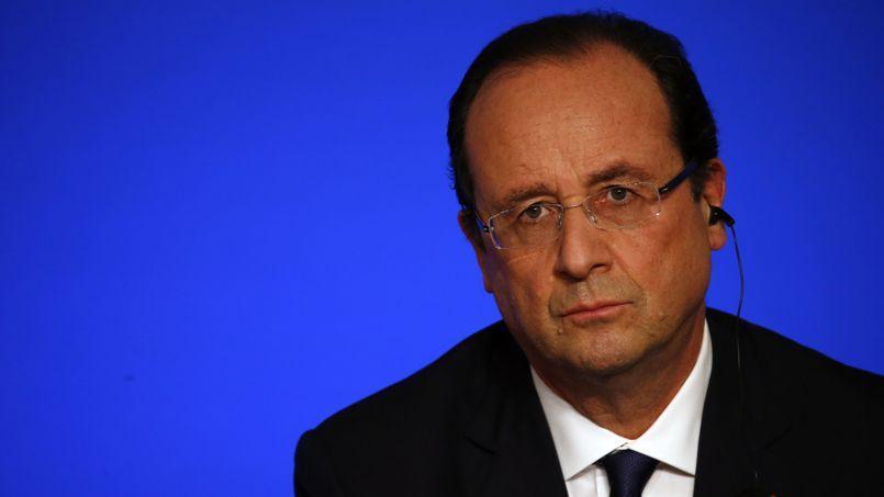 François Hollande mardi à l'Élysée.