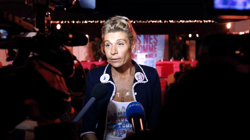 L'ex-égérie de la «Manif pour tous», Frigide Barjot.