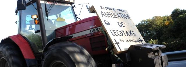 Pour les agriculteurs, l'opération de blocage «est une réussite»